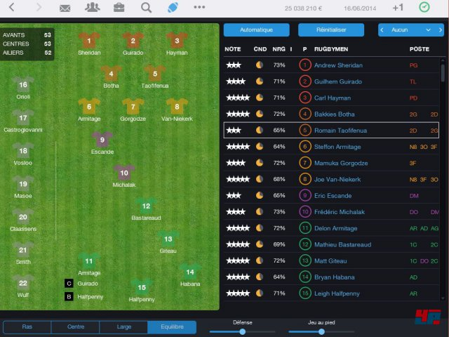 Screenshot - Pro Rugby Manager 2015 (iPad) 92486516