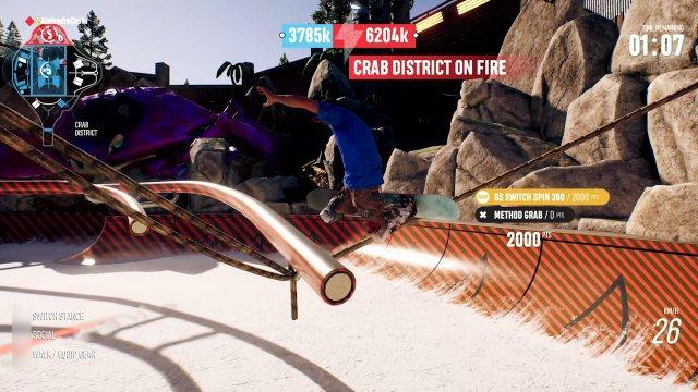 In den Tricks Battles sammelt man Punkte für das Team.