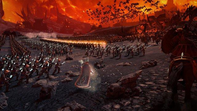 Im Chaosreich von Khorne warten massenhaft Gegner auf die Eindringlinge.