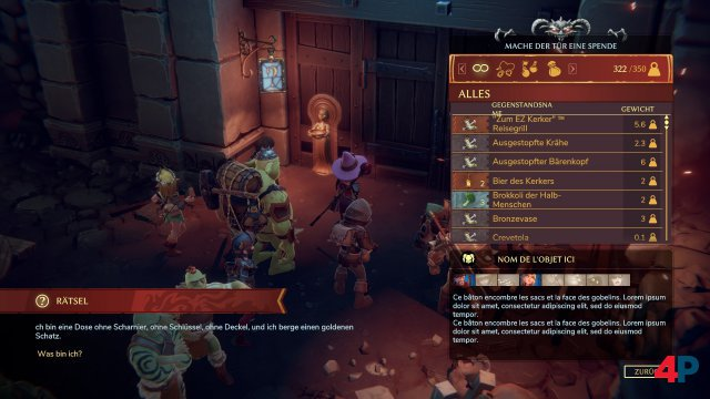Screenshot - The Dungeon of Naheulbeuk: The Amulet of Chaos (PC) 92625753