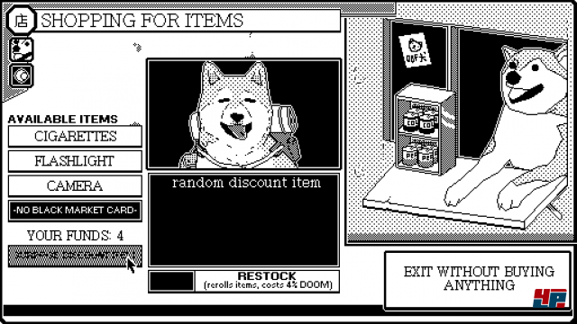 Screenshot - World of Horror (Linux) 92570641