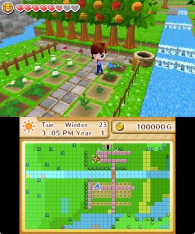 Screenshot - Harvest Moon: Das verlorene Tal (3DS) 92504991