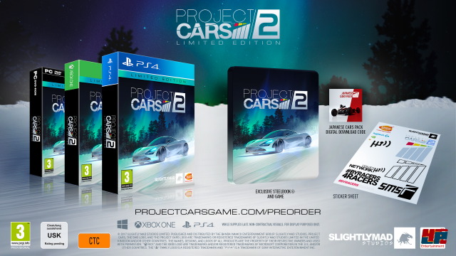 Limited Edition von Project CARS 2