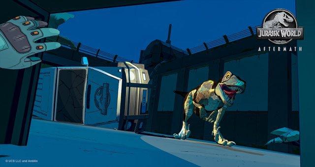 Screenshot - Jurassic World Aftermath (OculusQuest, VirtualReality)