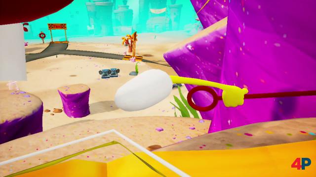 So sieht Spongebob also von innen aus - und zwar in der technisch schwachen Switch-Umsetzung.