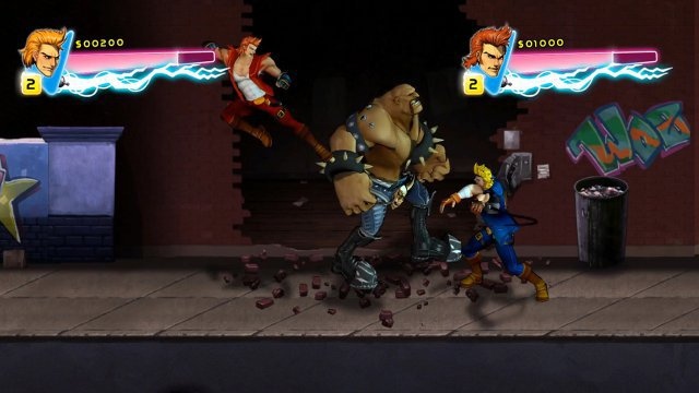 Screenshot - Double Dragon Neon (Switch) 92632620