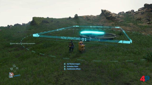 Man kann sogar unterirdische Lager bauen.