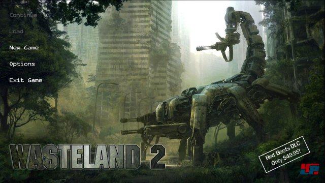 Englisch ist die bessere Wahl: Wasteland 2 ist zwar auch mit deutschen Texten spielbar, aber die Übersetzung ist schwach.
