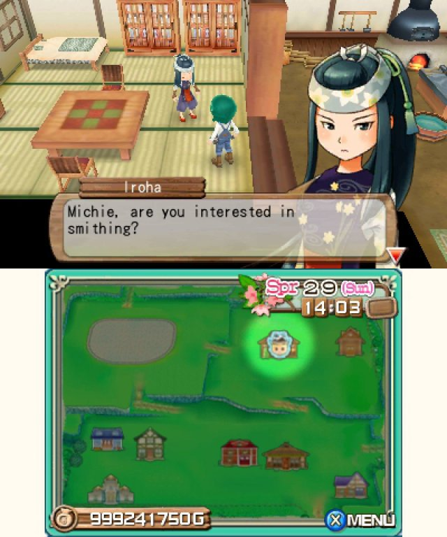 Screenshot - Harvest Moon 3D: A New Beginning (3DS) 92469856