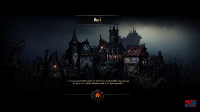 Darkest Dungeon lässt euch auch auf PS4 und PS Vita drei Spielstände anlegen. Der Tod der Helden ist dauerhaft: Man kann vor Kämpfen nicht speichern und nachladen.