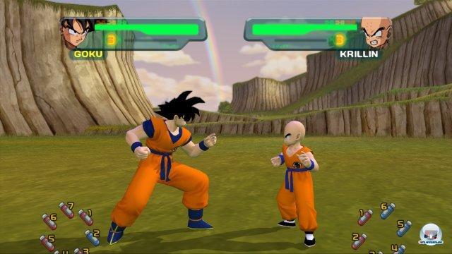 Screenshot - DragonBall Z Budokai HD Collection (PlayStation3)