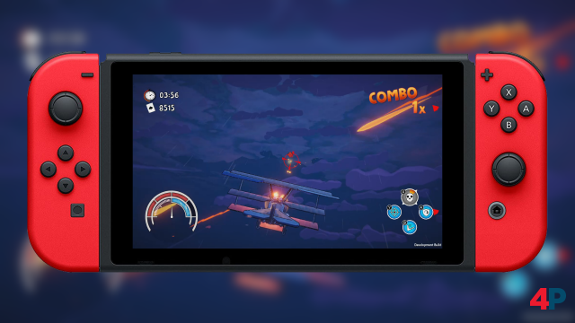 Screenshot - Red Wings: Aces of the Sky (Switch)