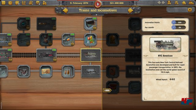 Screenshot - Railway Empire (Linux) 92555401
