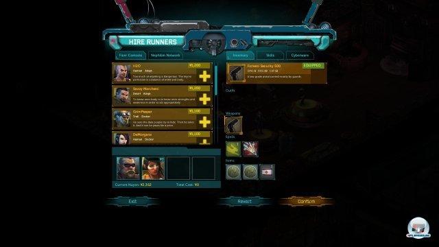 Screenshot - Shadowrun Returns (PC) 92465725