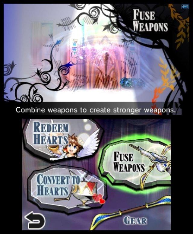 Screenshot - Kid Icarus: Uprising (3DS)