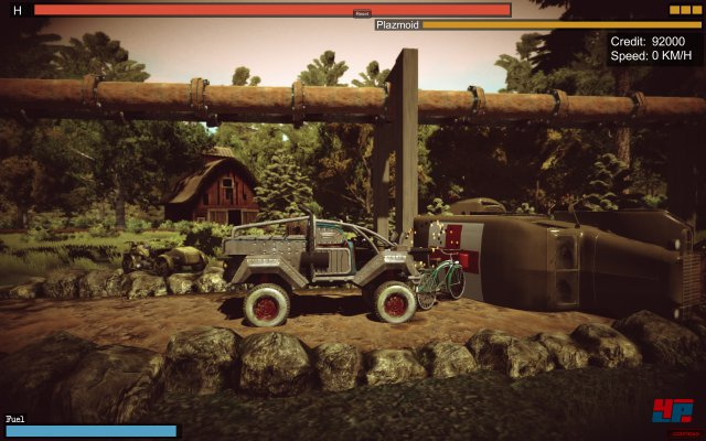 Screenshot - Ironkraft - Road to Hell (PC)