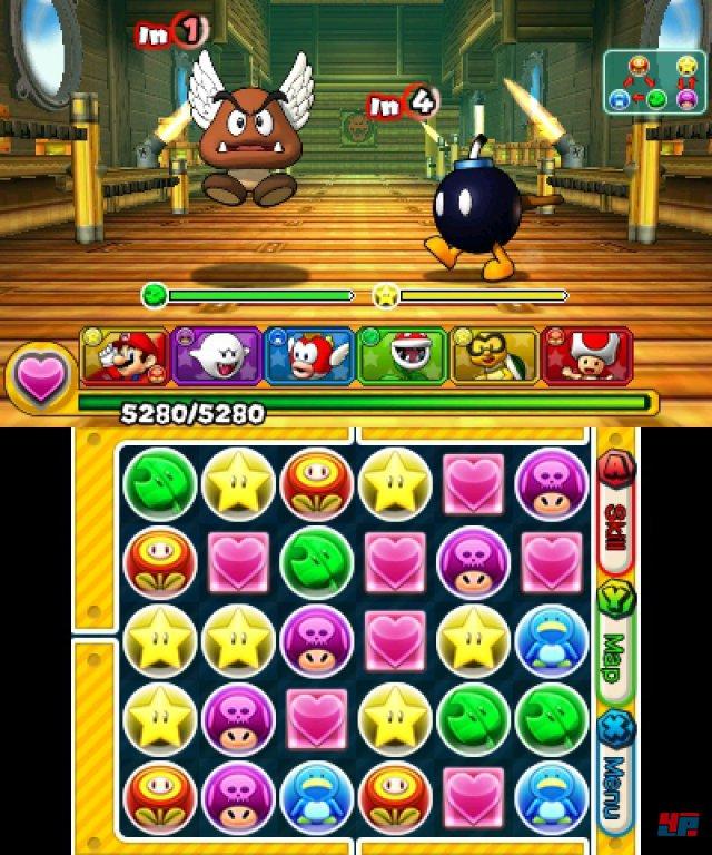 Screenshot - Puzzle & Dragons Z   Puzzle & Dragons Super Mario Bros. Edition (3DS) 92504368