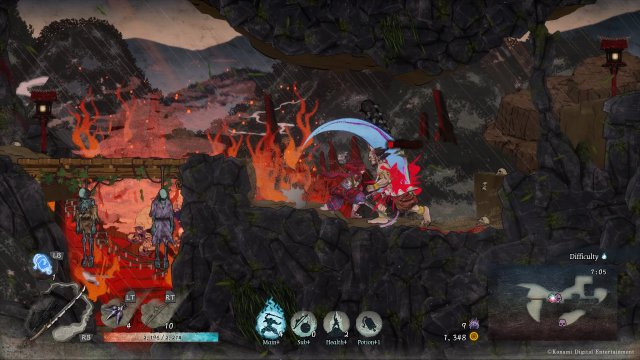 Screenshot - GetsuFumaDen: Undying Moon (PC, Switch) 92639427