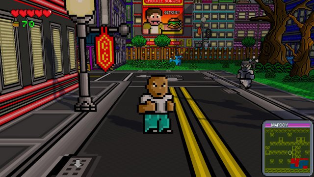 Screenshot - Radical Heroes: Crimson City Crisis (PC)