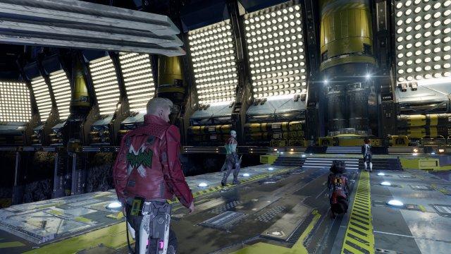 Um eine Strafe abzuzahlen, landen die Guardians auf einer Station des Nova Corps.