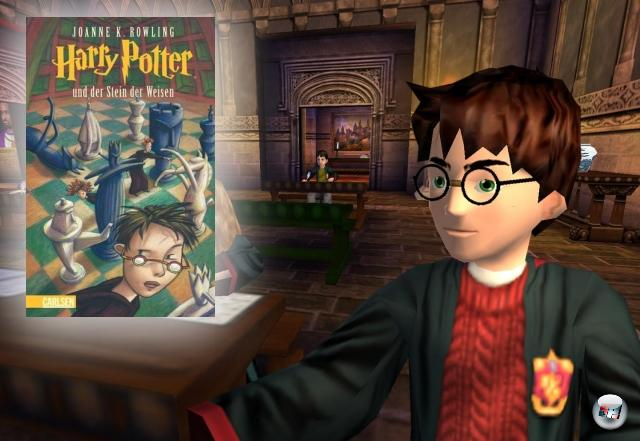 <br><br><b>Harry Potter</b> (Joanne (Kathleen) Rowling, 1997)<br><br>Die Harry Potter-Saga von J. K. Rowling dürfte wohl das Werk sein, das den schnellsten Spurt von »Wasndas?« bis »Kennt ausnahmslos jeder auf dieser Welt« geschafft hat - zum Zauberlehrling-Phänomen muss wohl kaum noch etwas gesagt werden. Klar, dass derart erfolgreiche Bücher und Filme stante pede Spiele nach sich ziehen. Die sich über die Jahre erstaunlicherweise qualitativ kaum Schnitzer geleistet haben. 2056823