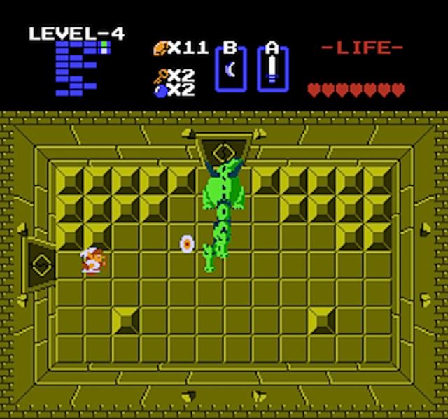 In den Dungeons musste sich Link mit mächtigen Wächtern anlegen.