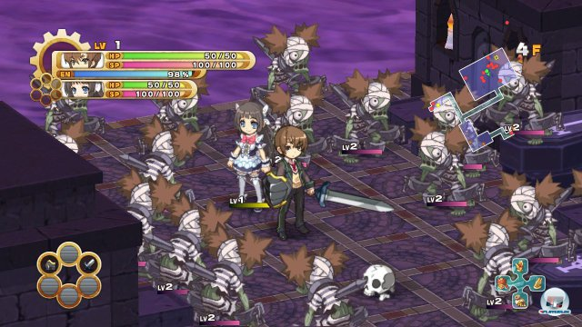 Screenshot - The Guided Fate Paradox (PlayStation3)