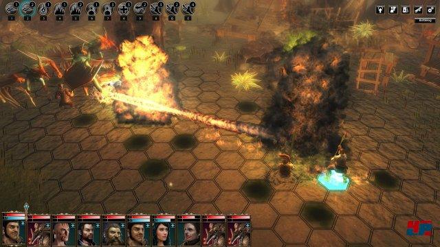 Screenshot - Das Schwarze Auge: Blackguards (PC)