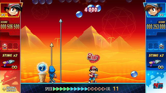 Screenshot - Pang Adventures (Switch)
