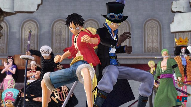 Screenshot - One Piece: Pirate Warriors 3 (Switch)
