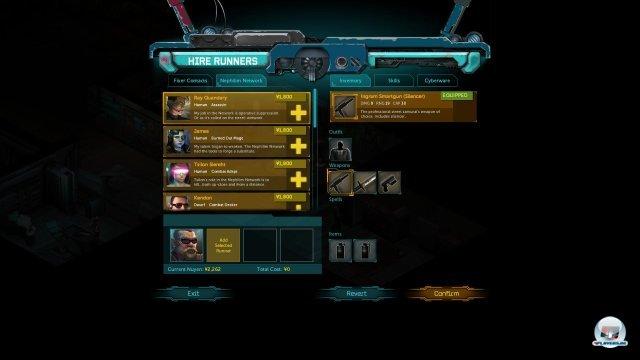 Screenshot - Shadowrun Returns (PC) 92465741