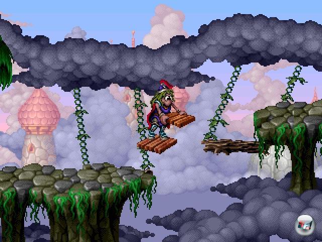 Im Jahre 1996 machten die Lemminge ihren bislang größten Sprung: Weg von der Maus, weg von der Masse, weg vom Suizid - hin zum Jump-n-Run:  In »The Adventures of Lomax« übernahm der Spieler die Rolle des Titel gebenden Grünhaars, um den bösen EvilEd aufzuhalten. Das Spiel hatte, vom Protagonisten und seinen Brückenbauern-/Tunnelgraber-Fähigkeiten abgesehen) logischerweise mit den anderen Serienteilen nicht viel zu tun, ist aber (auch im Nachhinein) trotzdem ein höchst empfehlenswerter Geschicklichkeitstest - den gerade Amiga-Fans schätzen dürften, denn Programmierung und Artdesign stammten aus den Händen der Thalion-Veteranen Erwin Kloibhofer und Henk Nieborg. 2202952