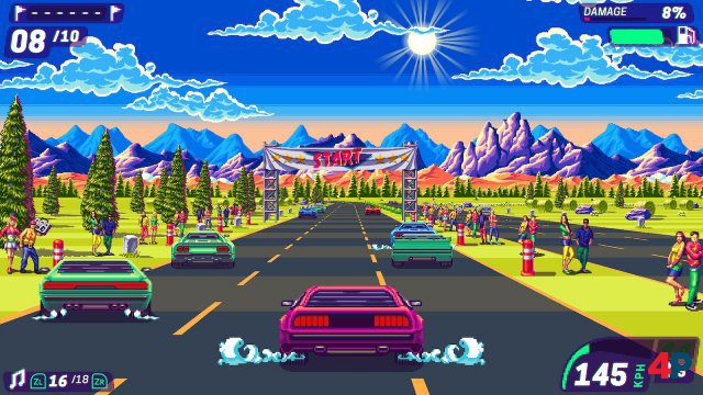 Screenshot - 80's Overdrive (Switch) 92612844