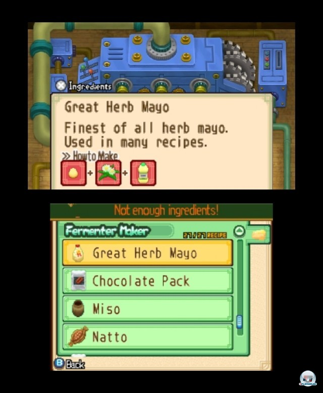 Screenshot - Harvest Moon: The Tale of Two Towns (3DS) 2232283