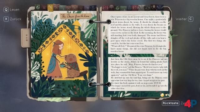 """Die Geschichten im """"Book of Goblins"""" sind wundervoll gestaltet und über Rätsel mit der Spielwelt verknüpft."""