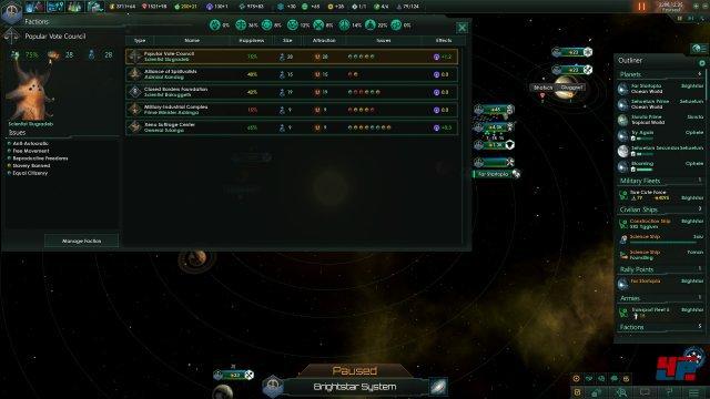 Screenshot - Stellaris: Utopia (Linux)