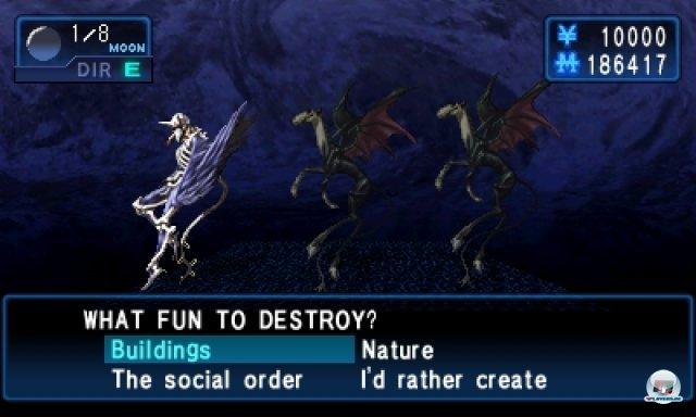 Screenshot - Shin Megami Tensei: Devil Summoner - Soul Hackers (3DS)