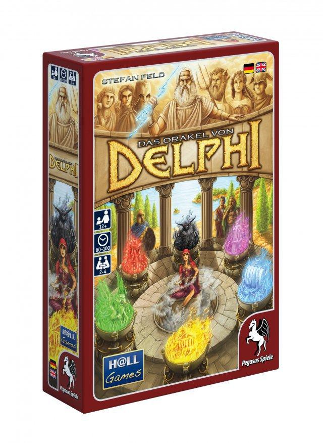 Das Orakel von Delphi.