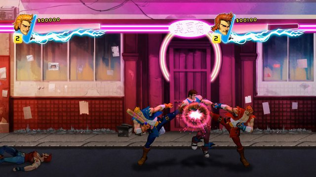 Screenshot - Double Dragon Neon (Switch) 92632618