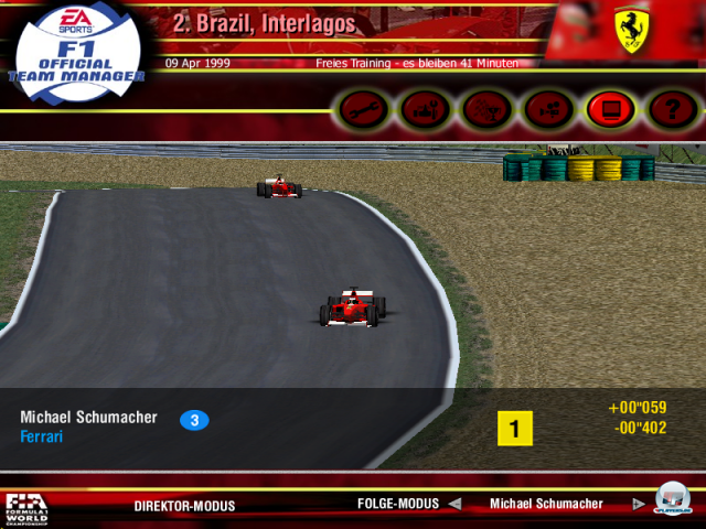 Screenshot - F1 Official Team Manager (PC)