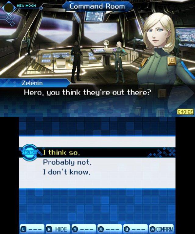 Screenshot - Shin Megami Tensei: Strange Journey (Redux) (3DS)