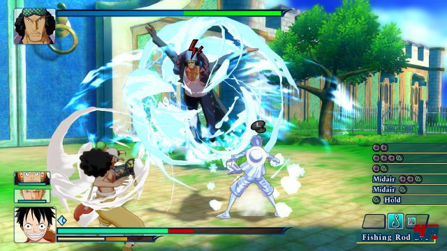 Screenshot - One Piece: Unlimited World Red (PlayStation3)