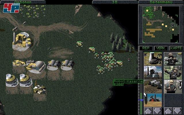Command & Conquer<br><br>1995: Wir schreiben das Jahr 2 nach Doom, die damalige BPjS hat sich gerade warmgeschnitten und kommt jetzt erst richtig in Fahrt - woraufhin deutsche Publisher jeden auch nur ansatzweise rot schattierten Pixel vorsorglich und durchaus paranoid aus ihren Spielen verbannen. Command & Conquer: Der Tiberiumkonflikt ist eines der populärsten und umstrittensten Opfer, denn hier ließ es die Schere im Kopf gleich richtig krachen: Aus allen Menschen wurden Androiden, es gibt Robot-Kasernen und Zivilisten sind Farmbots - spätestens bei den Missionsbeschreibungen, bei denen es sich um feindliche Droiden dreht, bricht der seit vielen Jahren volljährige Spieler aus den Latschen. Natürlich gibt es so auch keinerlei Blut, stattdessen verlieren getroffene Einheiten gar nichts, allerdings ist das kein Wunder - es gibt ja keine Schmerzensschreie, dafür macht es »Plöff!«, wenn ein Soldat... pardon, ein Android fällt. Völlig abstrus wird es, wenn Zwischensequenzen gekappt oder gleich völlig gestrichen werden, so wie hier geschehen. Ein unschönes Zeugnis deutscher Spielkulturgeschichte, das hier nochmals überdeutlich an die Oberfläche geholt wird, denn natürlich betrifft das alle C&C-Echtzeitstrategiespiele vom Tiberiumkonflikt über den roten Alarm bis zu den Generälen. 1717775