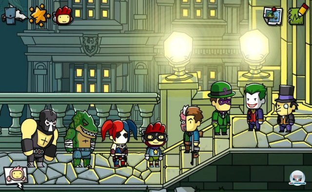 Screenshot - Scribblenauts Unmasked: A DC Comics Adventure (3DS)