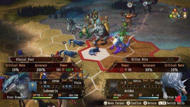 Screenshot - Brigandine: The Legend of Runersia (Switch)