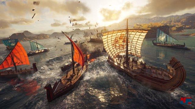 Seefahrt und Schiffskämpfe dürften eine ähnlich große Rolle spielen wie seinerzeit bei Assassin
