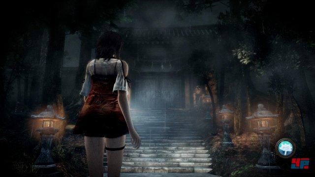 Yuri auf dem Weg zum Schrein.