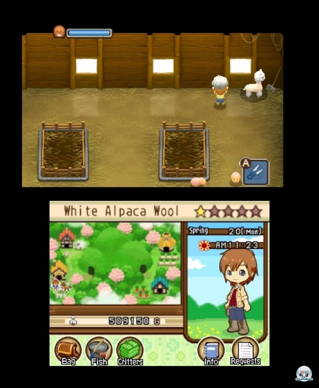 Screenshot - Harvest Moon: The Tale of Two Towns (3DS) 2232278