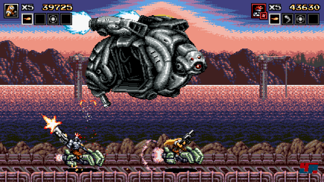 Screenshot - Blazing Chrome (PC) 92561638