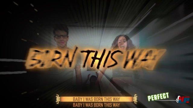 Im Showtime-Modus wird man zum Hauptdarsteller eines Videoclips und kann nach Belieben improvisieren.